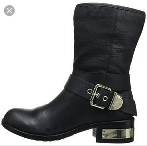 Vince Camuto Wellsley Winchell motorcycle boots